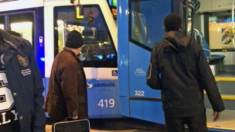 Spårvagn Göteborg.