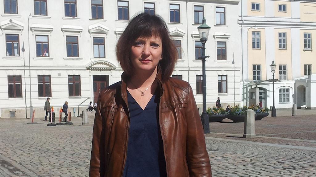 Marina Johansson (S), kommunalråd Gbg. Foto: Lasse Nilsson/SR
