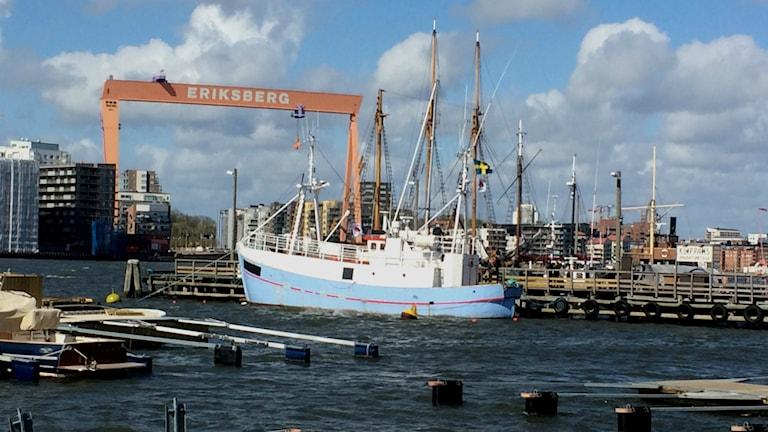 Marianne av Göteborg, Ship to Gaza. Foto. Peter Stenberg