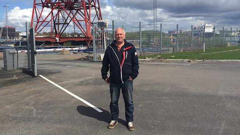 Jan Hermansson numera före detta anställd. Foto:Victor Holmgren.