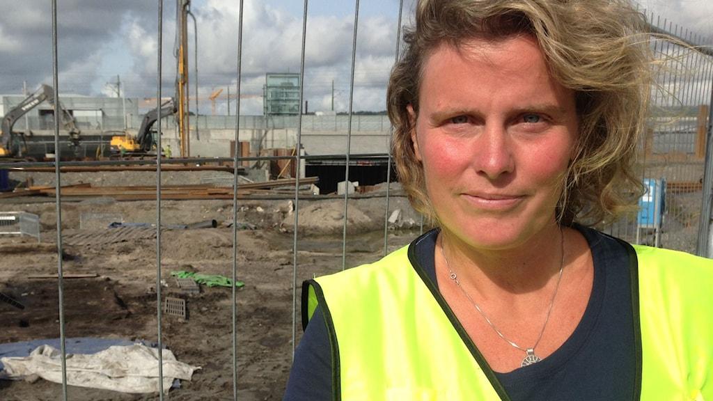 Christina Toreld, projektledare inom projektet staden Nya Lödöse