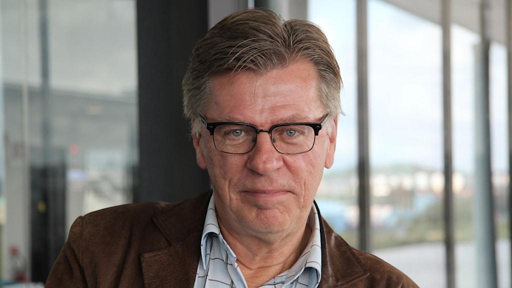Kjell Åke Hansson, programchef på P4 Göteborg. Foto: Madeleine Blidberg/SR