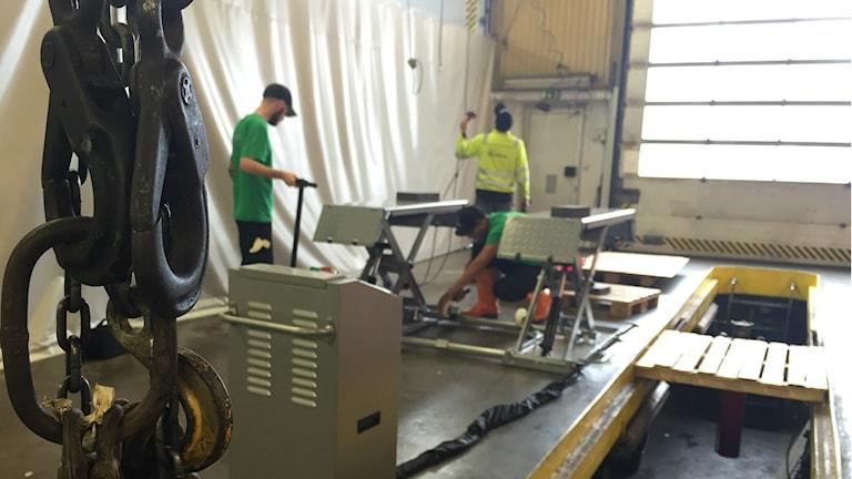 Garaget i Västra Frölunda ger ungdomar jobb