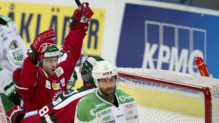 Spencer Abbot gjorde 1-0 för Frölunda