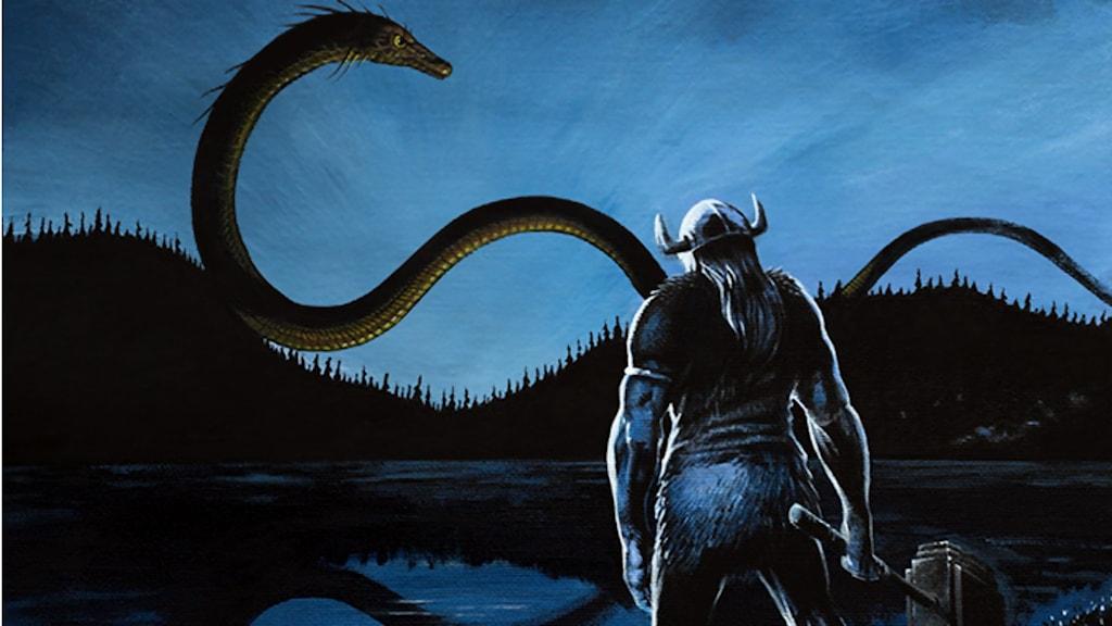 """Magnus """"Mojo"""" Olsson från Göteborg är en av konstnärerna i projektet. Bilden är beskuren."""