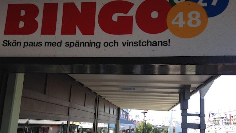 Svenska Spel vill flytta ut spelautomaterna från Bingohallar till kiosker och matbutiker. Foto. Monir Loudiyi