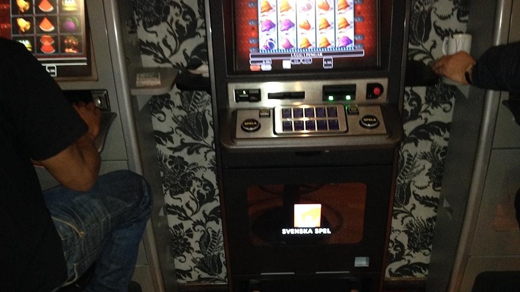 Den höjda maxinsatsen innebär att en kan spela för 180 kronor - per minut. Foto. Monir Loudiyi