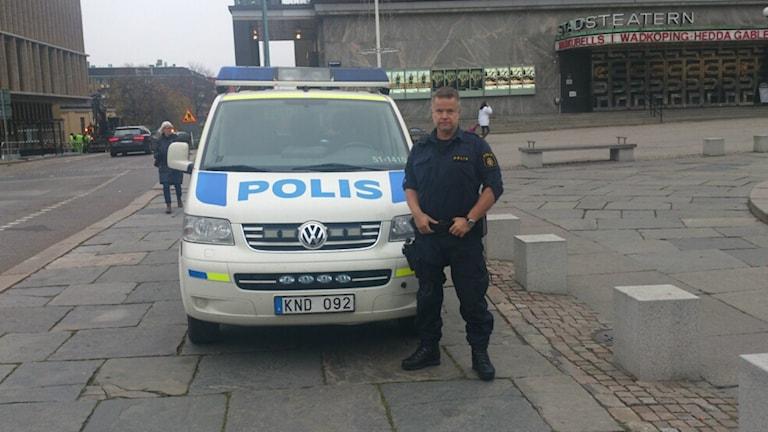 Anders Karlsson, Polis i Göteborg. Foto: Privat