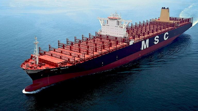 Världens största fartyg Maya.