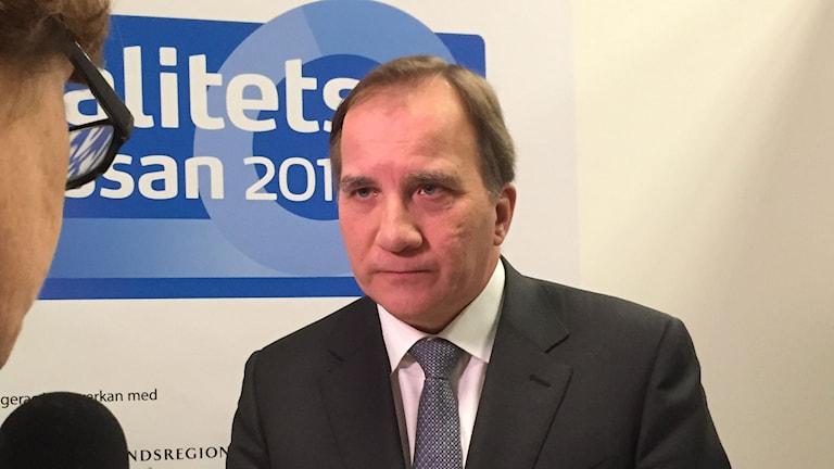 Statsminister Stefan Löfvén.