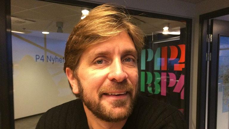 Guldbagge-vinnaren,göteborgaren, filmregissören och manusförfattaren Ruben Östlund. Foto: Sveriges Radio