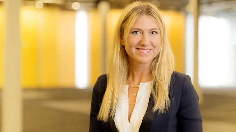 Maria Källsson blir ny vd. Foto: Anna Falck avgår som vd för Bok & Bibliotek. Foto: Ola Kjelby