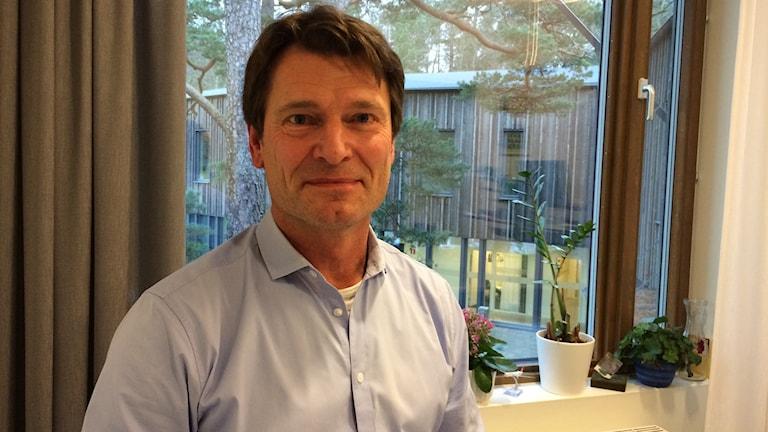 IFK Göteborgs klubbdirektör Martin Kurzwelly menar att man har bra värdegrundsarbete i klubben. Foto: Josipa Kesic/Sveriges radio