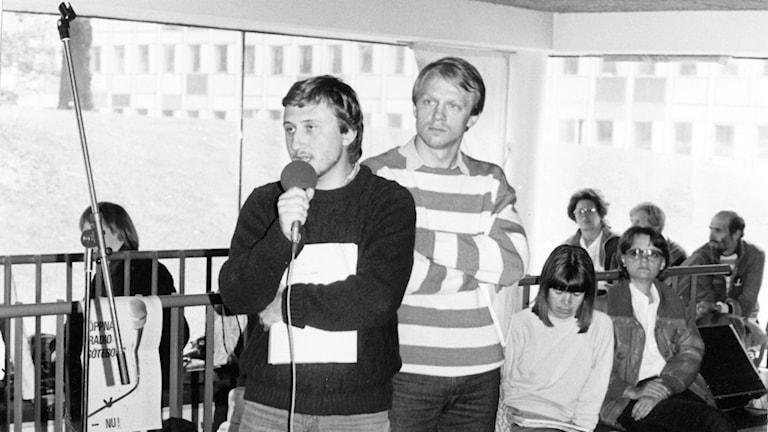 Janne Josefsson och Lennart Persson.