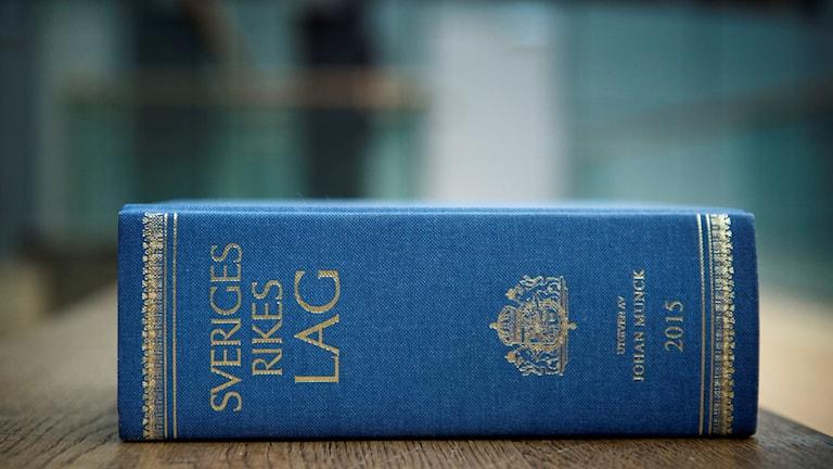 Sveriges rikes lag.  Foto: Jessica Gow/TT