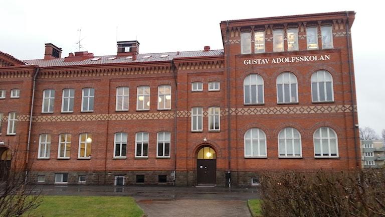 Gustav Adolfs skola i Alingsås. Foto: Andreas Lithander/Sveriges Radio.