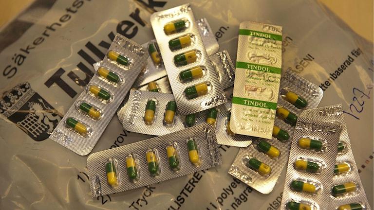 Tullverket beslagtar inga större mängder buprenorfin eller metadon. Foto: LEIF R JANSSON / TT