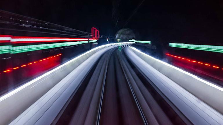 Tunneln genom Hallandsåsen. Foto: Fredrik Blomqwist