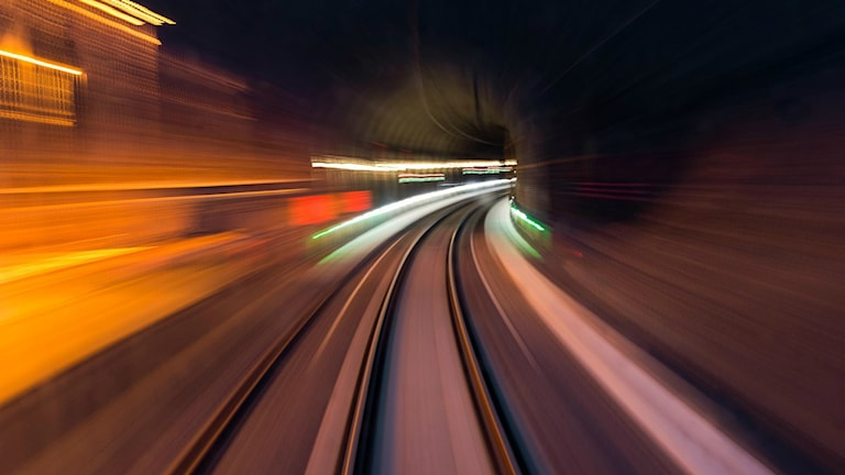 Järnvägstunneln genom Hallandsåsen. Tunneln genom Hallandsåsen. Foto: Fredrik Blomqwist
