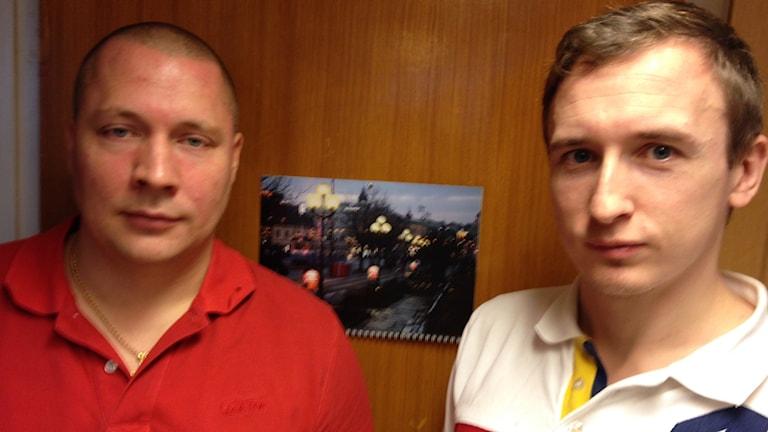 Marcus Sjömark och Mikael Lyckeklint. Foto: Monir Loudiyi