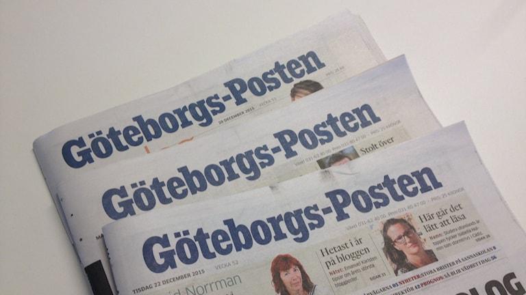 Göteborgs-Posten är en del av Stampen-koncernen. Foto: Madeleine Blidberg/SR