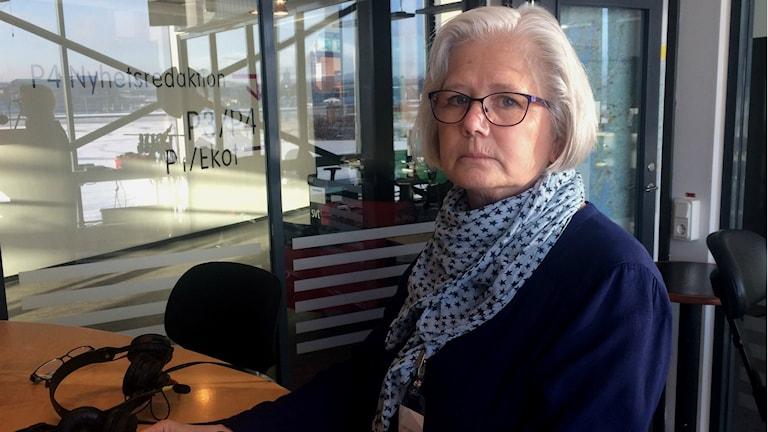 Maud Öhlund från Konsument- och medborgarservice. Foto: Susanne Ehlin /SR