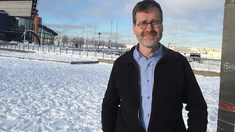 Ulf Kamne, miljöparti-kommunalråd med ansvar för stadsutveckling och miljö. Foto: Karin Jansson