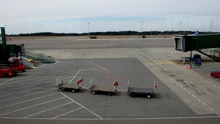 Landvetter flygplats. Foto: adam Ihse/TT