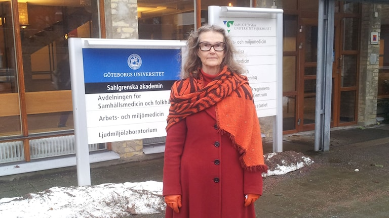 Eva Andersson överläkare SU Arbets- och miljömedicin.