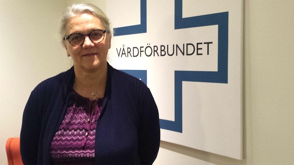 Anne Karin Höglund är orolig för att övertiden ökar