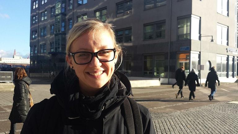 Karin Fahlgren, student och sjuksköterska
