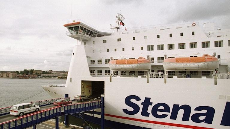 Stena Lines danmarksterminal vid Masthuggskajen.