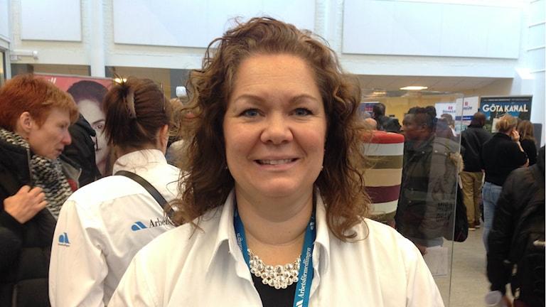 Nina Skoglund från Arbetsförmedlingen.