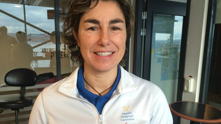 Ines Lopez från Parasportförbundet
