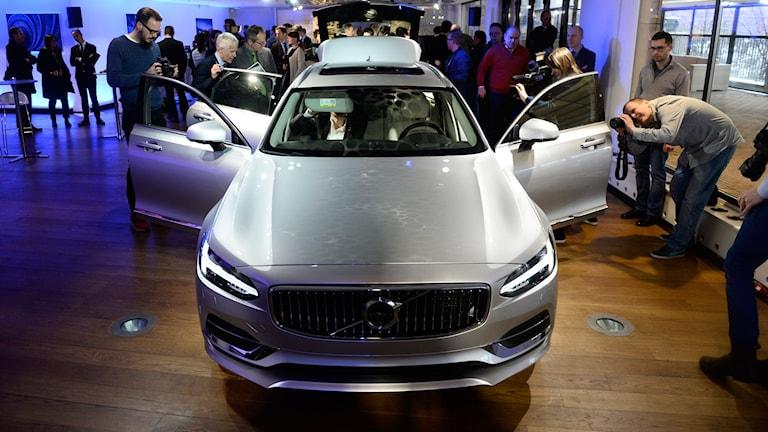 Volvo Cars visade sin nya bil V90.
