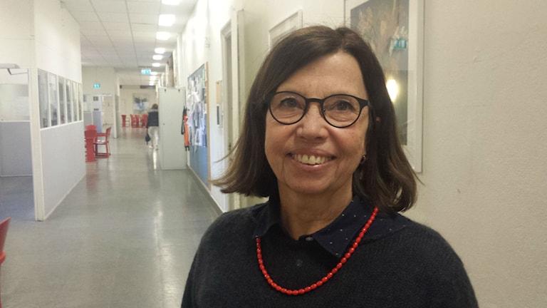 Margaretha Lindblom, fackligt ombud på Lärarförbundet