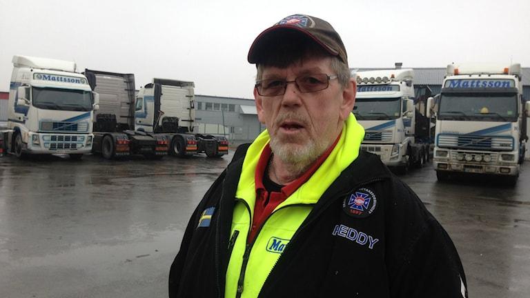 Freddy Welle, lastbilschaufför.