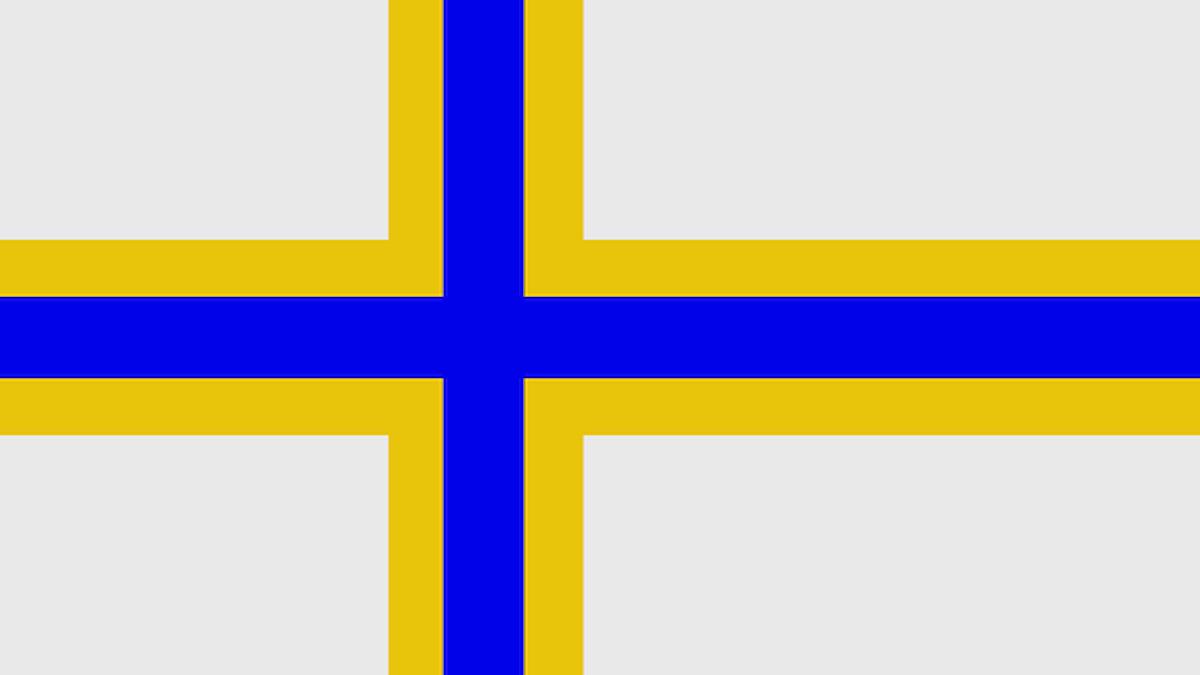 Sverigefinska flaggan