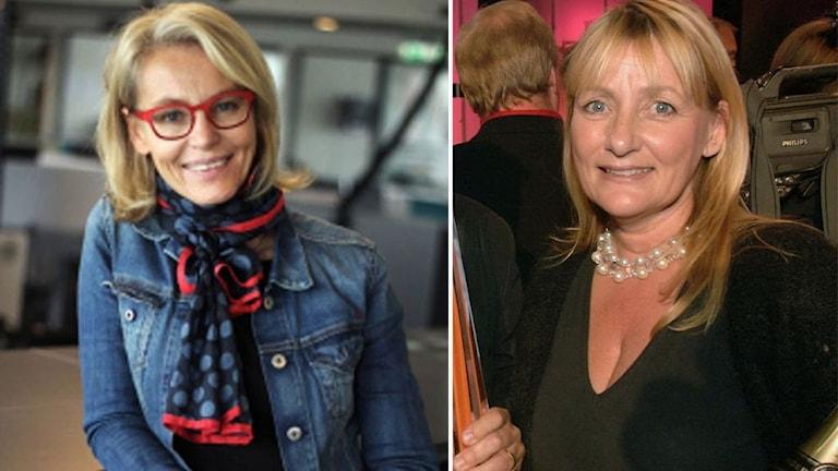 Ylva M Andersson och Mette Friberg