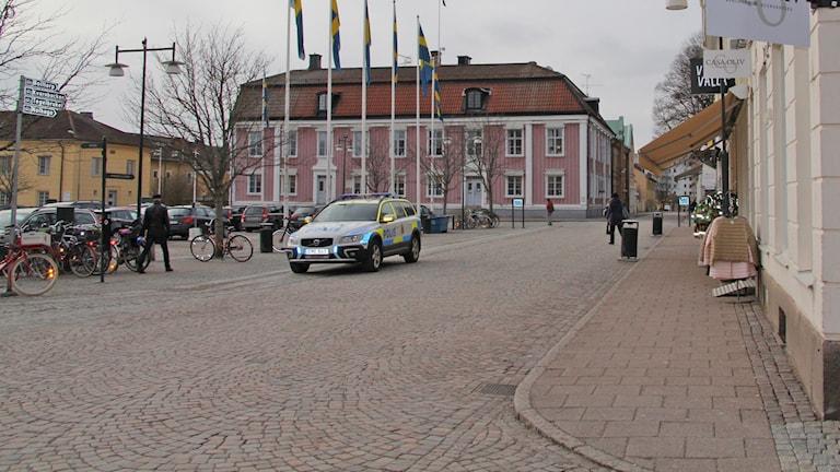 Stora Torget framför kommunhuset
