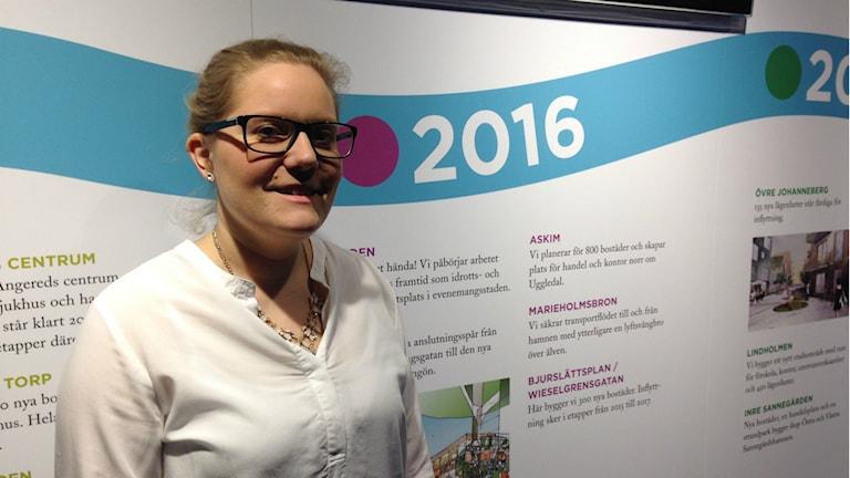 Anna Samuellson från Stadsbyggnadskontoret.