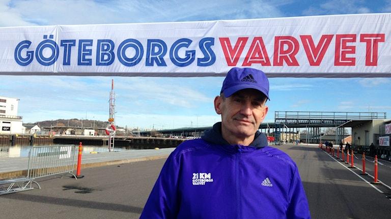 Tommy Bäckström, varvsansvarig, Göteborgsvarvet.