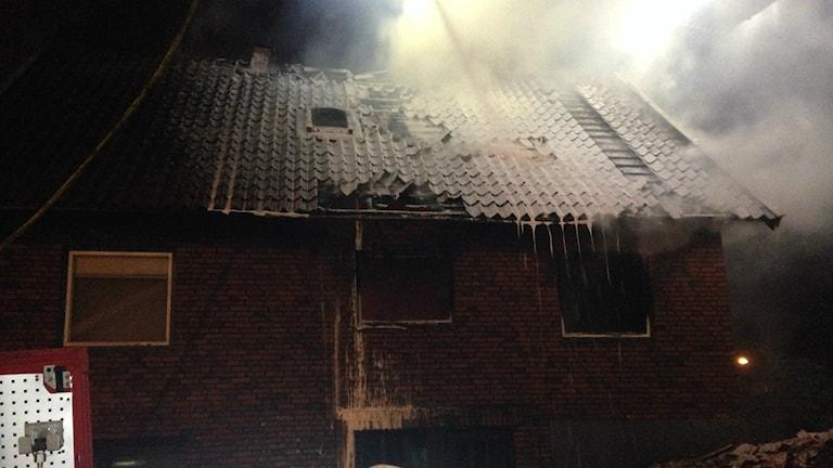 Brand Kortedala på tilltänkt HVB-hem.