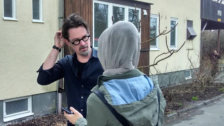 David Nilsson, chef för Enheten för ensamkommande barn i Mölndal.