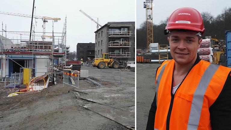 Johannes Öberg, sälj- och marknadschef på Skanska i Göteborg.