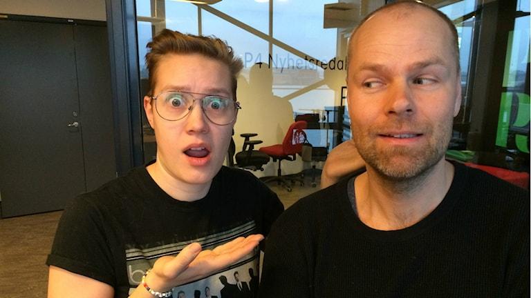 Lovisa Fischerström och Torbjörn Olsson