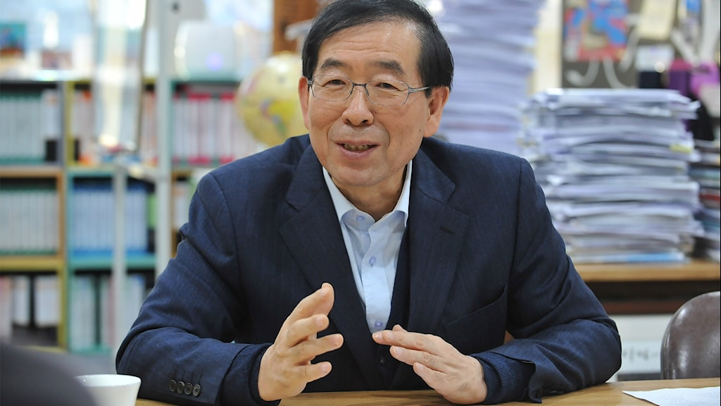 Seouls borgmästare Park Won-soon
