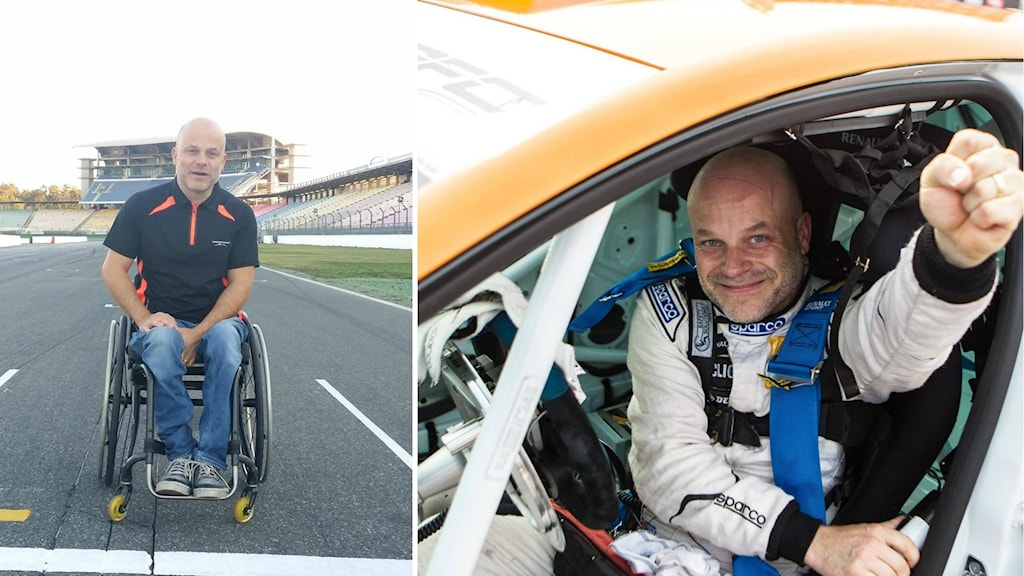 Peter Larsson tävlar i Renault Clio Cup.