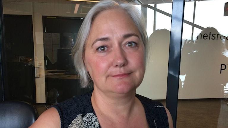 Maria Areskoug från Bröstcancerföreningarnas Riksorganisation