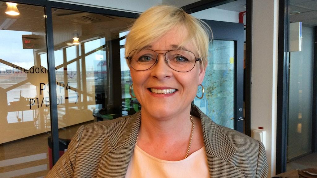 Sarah Britz, chefredaktör för tidningen Faktum
